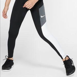 Nike Trophy Girls training Tights leggings dri fit